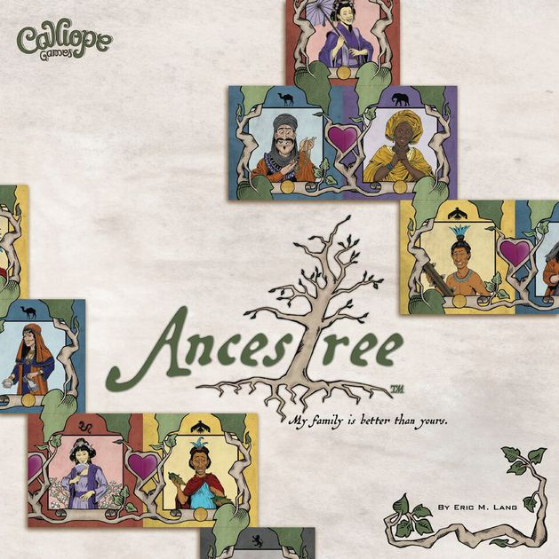 Ancestree board game box art