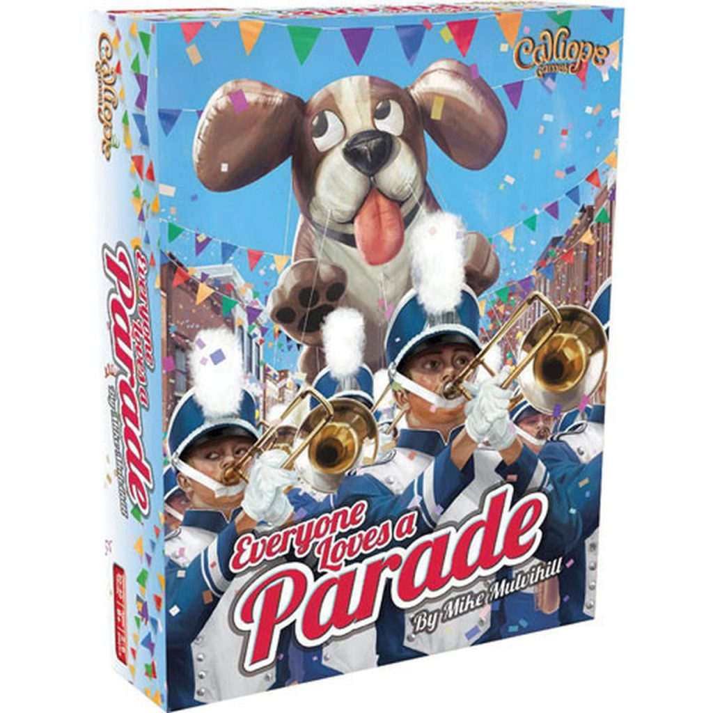 Everyone Loves a Parade board game box art