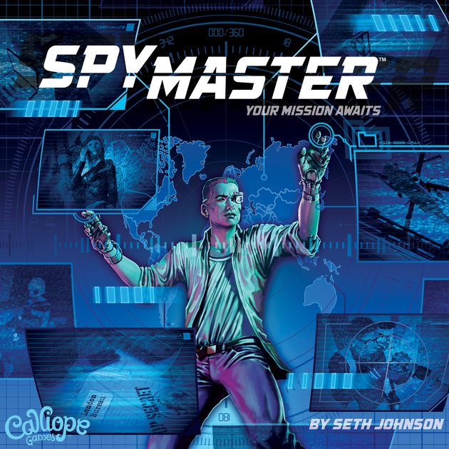SpyMaster board game box art