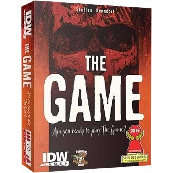 The Game card game box art