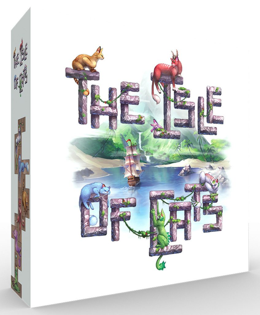 The Isle of Cats board game box art
