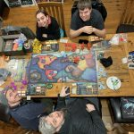 group of players playing Cthulhu Wars
